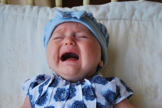 Menangis Tanpa Air mata Saat Bayi Terkena Diare